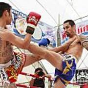 Thai Boxing Match Poster
