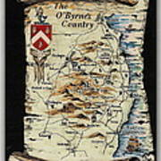The O Byrnes Country Poster