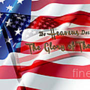The Stars And Stripes Poster