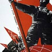 The Ussr Is The Elite Brigade Of The World Proletariat 1931 Poster