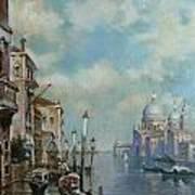 Venice At Noon Poster