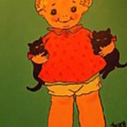 Vintage Kewpie Doll Poster