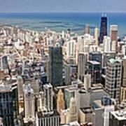 0001 Chicago Skyline Poster