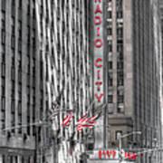 0007 Radio City Music Hall Poster