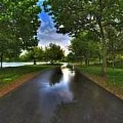 001 After The Rain At Hoyt Lake Poster