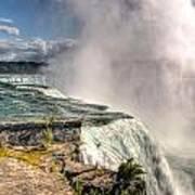 0011 Niagara Falls Misty Blue Series Poster