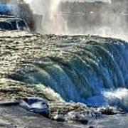 0013 Niagara Falls Winter Wonderland Series Poster