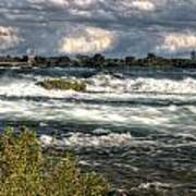 0015 Niagara Falls Misty Blue Series Poster