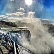 002 Niagara Falls Winter Wonderland Series Poster