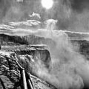 002a Niagara Falls Winter Wonderland Series Poster