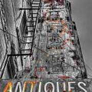 003 Antiques  Poster