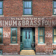 0044 Foundry Building Poster