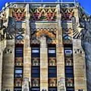 0049 Art Deco City Hall Poster