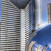 0077 Millennium Park Chicago Poster