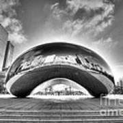 0079 The Bean - Millennium Park Chicago Poster