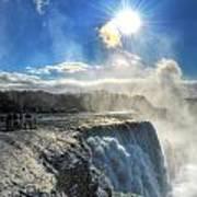 008 Niagara Falls Winter Wonderland Series Poster