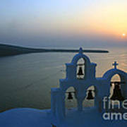 0210 Oia Sunset Poster