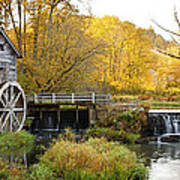 0289 Hyde's Mill Wisconsin Poster