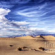 0292 Death Valley Sand Dunes Poster