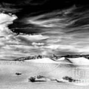 0293 Death Valley Sand Dunes Poster