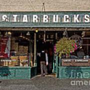 0370 First Starbucks Poster