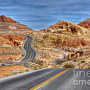 0445 Valley Of Fire Nevada Poster