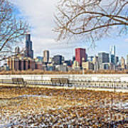 0452 Chicago Skyline Poster
