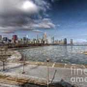 0488 Chicago Skyline Poster