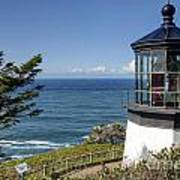 0511 Cape Mears Lighthouse - Oregon Poster