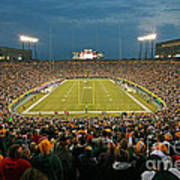 0615 Prime Time At Lambeau Field Poster