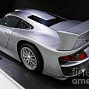 1997 Porsche 911 Gt1 Street Version Poster