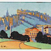 Edinburgh  General View        Date Poster