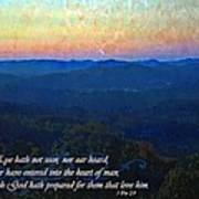 1 Corinthians 2 9 Poster