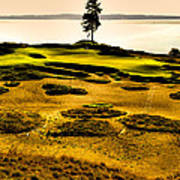 #15 At Chambers Bay Golf Course - Location Of The 2015 U.s. Open Tournament Poster