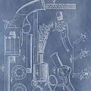 1856 Revolver Patent Poster