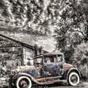 1928 Ford Model A Poster by Robert Jensen