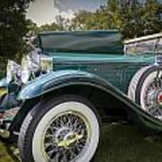 1929 Isotta Fraschini Tipo 8a Convertible Sedan Poster