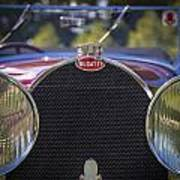 1930 Bugatti Type 50 Drop Head Coup Poster