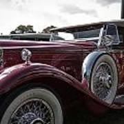 1930 Packard Model 734 Speedster Runabout Poster
