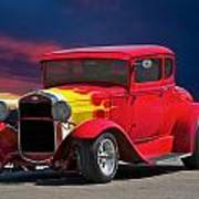 1931 Ford 'model A' Coupe Poster