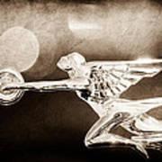 1932 Packard 12 Convertible Victoria Hood Ornament Poster