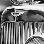 1934 Aston Martin Mark II Short Chassis 2-4 Seater Grille Emblem Poster