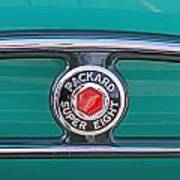 1934 Packard Super 8 Emblem Poster