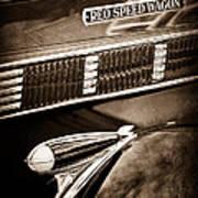1935 Reo Speed Wagon 6ap Pickup Emblem Poster