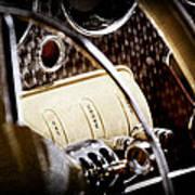1937 Cord 812 Phaeton Controls Poster