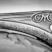 1938 Gmc Hood Ornament Poster by Jill Reger
