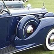 1938 Packard Poster
