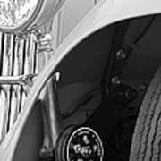 1939 Aston Martin 15-98 Abbey Coachworks Swb Sports Suspension Control Poster
