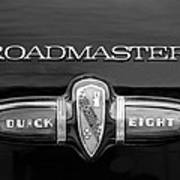 1939 Buick Eight Roadmaster Emblem Poster