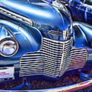 1940 Chevy Grill Poster